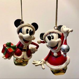 Disney's Mickey and Minnie Ornaments